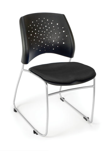 OFM 325-2224 Stars Stack Chair with Fabric Seat ; UPC: 845123004500 ; Image 1