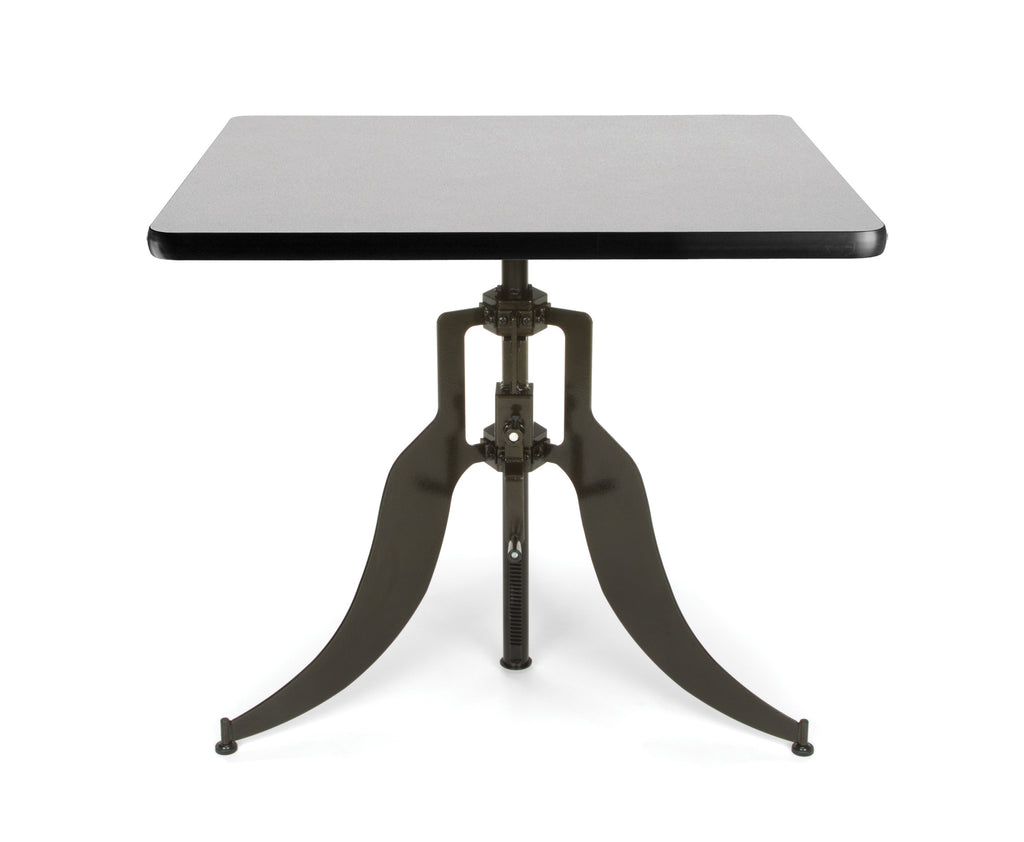 "OFM Endure Series Model AT36SQ 36"" Square Adjustable Height Table, Gray Nebula ; UPC: 845123039816 ; Image 1"