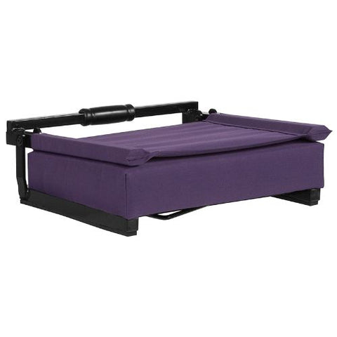Flash Furniture Grandstand Comfort Seats by Flash with Ultra-Padded Seat in Dark Purple XUSTADKPURGG ; Image 5 ; UPC 889142400301