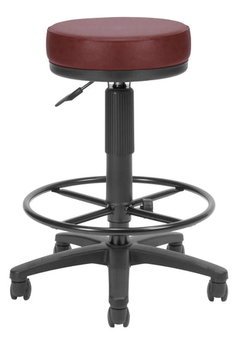 OFM Anti-Bacterial Utility Stool with Drafting Kit, Green ; UPC: 811588015610 ; Image 1