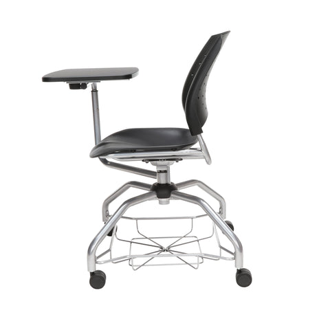 OFM Stars Foresee Series Tablet Chair with Removable Plastic Seat Cushion - Student Desk Chair, Black (329T-P) ; UPC: 845123094297 ; Image 5