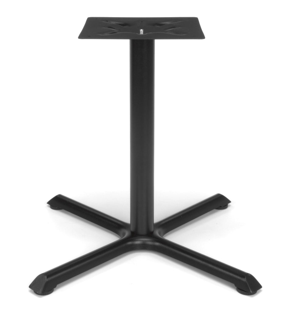 "OFM X-Style Large Base for Model XT Standard Height Multi-Purpose 36"" to 42"" Tables, Black ; UPC: 845123032091 ; Image 1"