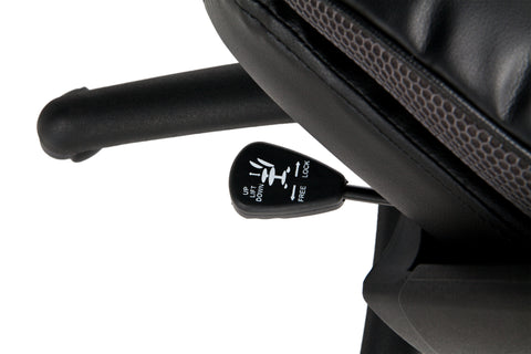 Essentials by OFM ESS-6032 High Back Executive Chair, Black ; UPC: 845123095331 ; Image 8