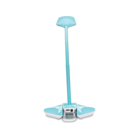 OFM ESS-9001-10PK-TE Essentials LED Desk Lamp with Removable Base and Integrated Desk Clamp, Teal (Pack of 10) ; UPC: 192767000512 ; Image 3