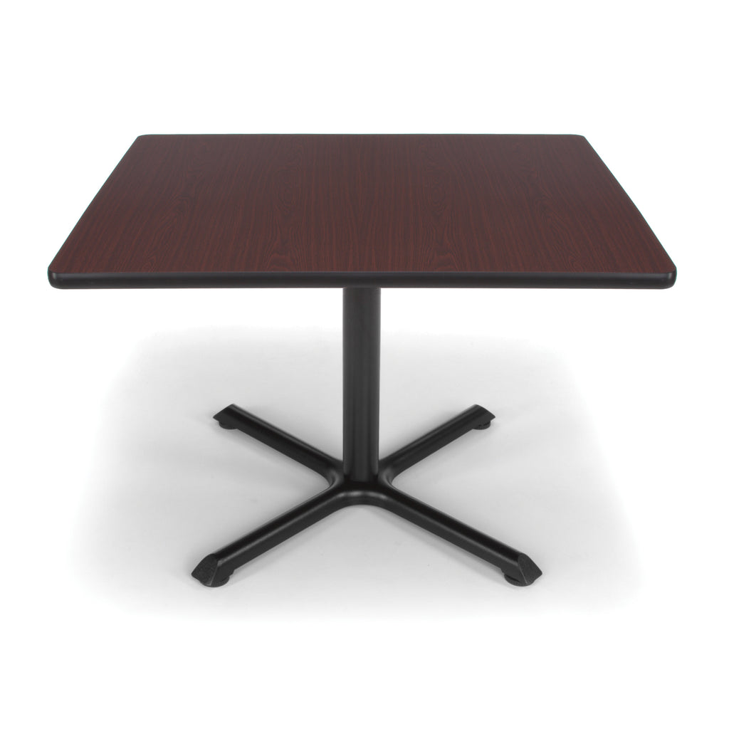 "OFM XT36SQ-MHGY Square Multi-Purpose Table, 36"", Mahogany ; UPC: 845123032008 ; Image 1"