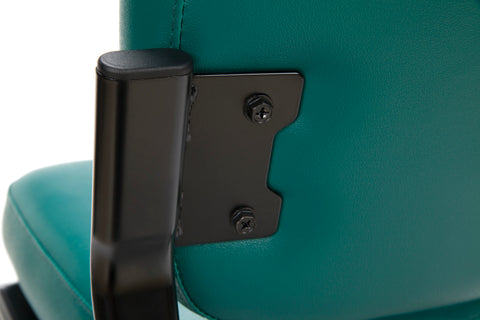 OFM Model 405-VAM Armless Guest and Reception Chair, Anti-Microbial/Anti-Bacterial Vinyl, Teal ; UPC: 811588014323 ; Image 8