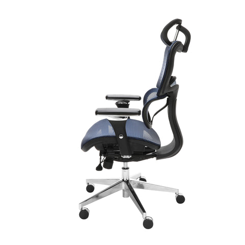 OFM Model 540-BLU Core Collection Ergo Mesh Office Chair with Head Rest for Computer Desk, Blue ; UPC: 192767000376 ; Image 5
