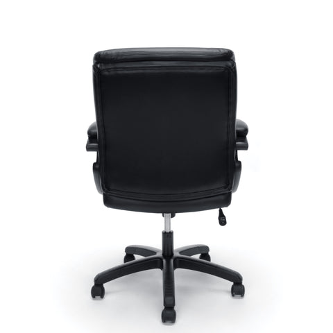 Essentials by OFM ESS-6020 Executive Office Chair, Black with Black Frame ; UPC: 845123092828 ; Image 3