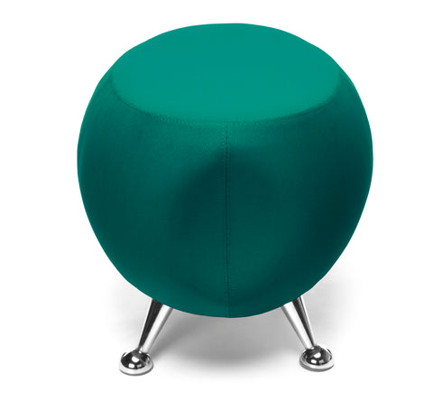 OFM Jupiter Series Fabric Ball Stool, in Green (2001-2331) ; UPC: 845123053355 ; Image 5