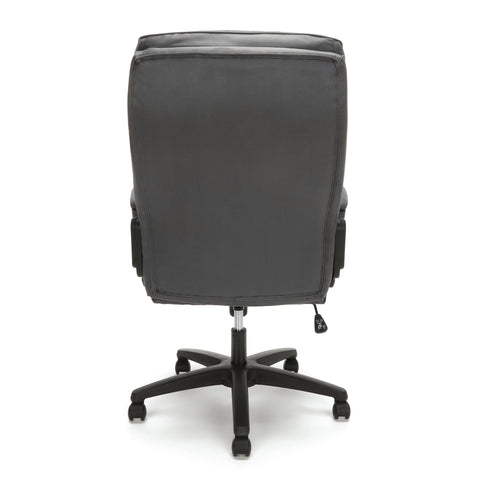 Essentials by OFM ESS-3081 Plush High-Back Microfiber Office Chair, Gray ; UPC: 845123095263 ; Image 3