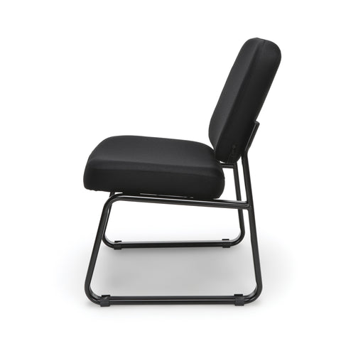 OFM Model 405 Fabric Armless Guest and Reception Chair, Black ; UPC: 811588014309 ; Image 5