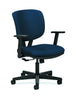 HON Volt Task Chair | Center-Tilt, Tension, Lock | Adjustable Arms | Navy Fabric