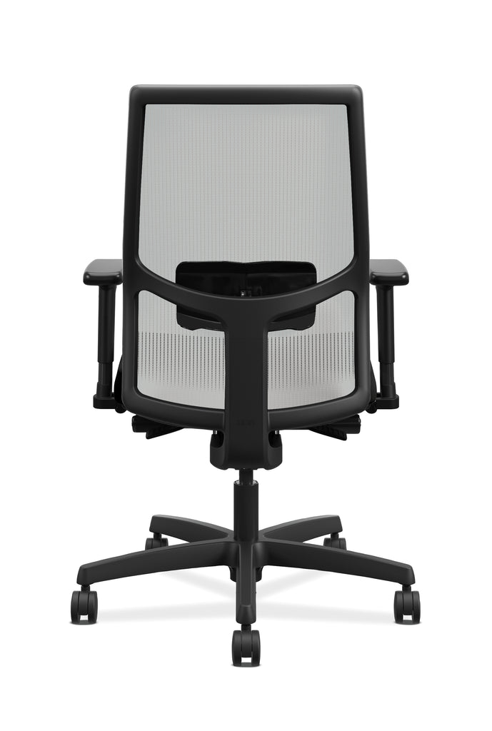 HON Ignition 2.0 Mid Back Adjustable Lumbar Work Chair   Fog Mesh Computer  Chair For