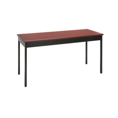 "OFM Core Collection 24"" x 60"" Multi-Purpose Utility Table, in Cherry (UT2460-CHY) ; UPC: 811588013128 ; Image 1"