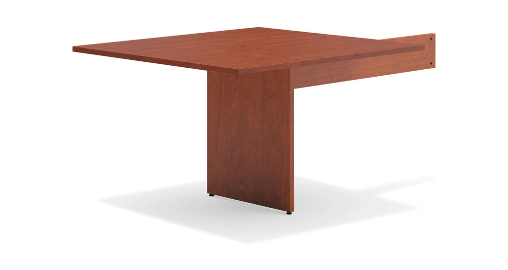 "HON Modular Conference Table, Rectangle End, 48""W x 96""D, Medium Cherry (BSXBLMT48R) ; UPC: 641128328043 ; Image 1"