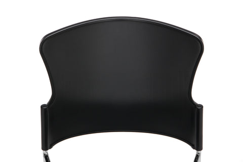OFM Multi-Use Model 310-P Stack Chair with Plastic Seat and Back, Black ; UPC: 811588013876 ; Image 7