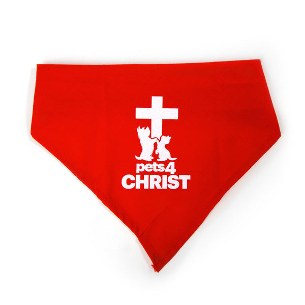 Bandana - Pets4Christ - Red
