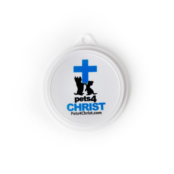Can Cover - Pets4Christ - Blue