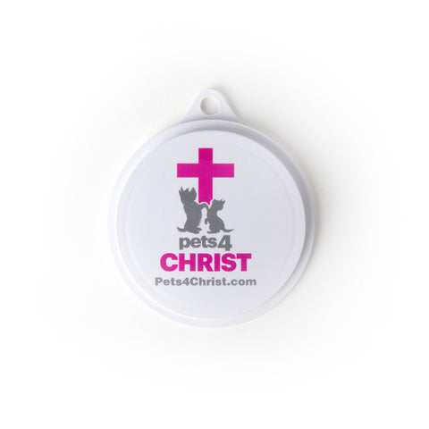 Can Cover - Pets4Christ - Pink