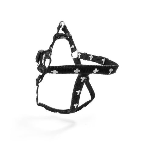 Harness - Cross - Black