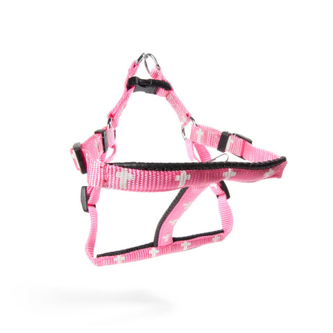 Harness - Cross - Pink