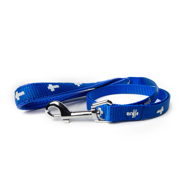 Leash - Cross - Blue