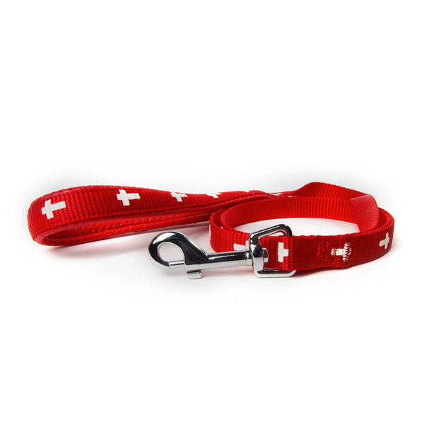 Leash - Cross - Red