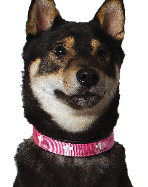 Padded Collar - Cross - Pink