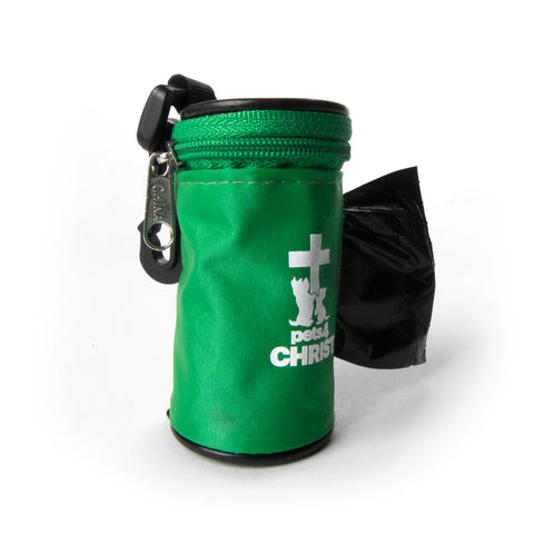 Waste Bag Holder - Pets4Christ - Green