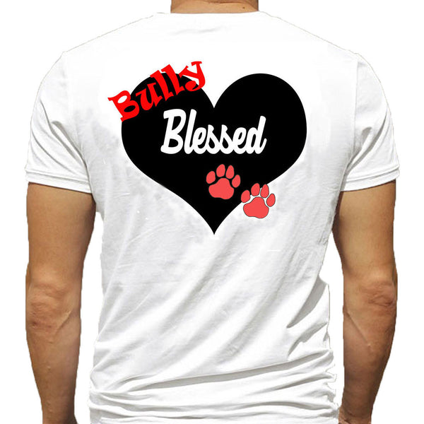 T-Shirt - Bully Blessed - Black or White