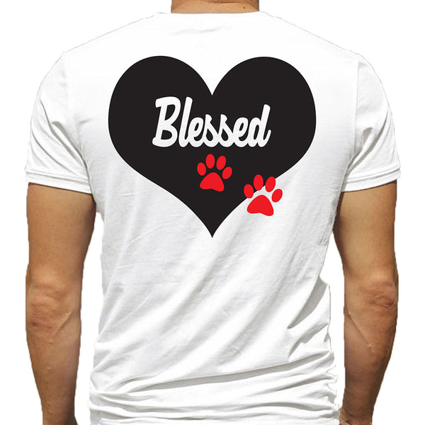 T-Shirt - Blessed - Black or White