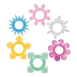 Tower Of Power Cock Rings 6 Pack