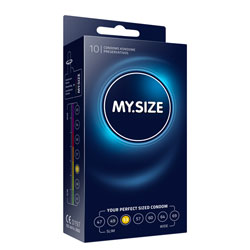 My.Size 53mm Condom 10 Pack