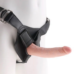 King Cock Strap On Harness 7 Inch Cock