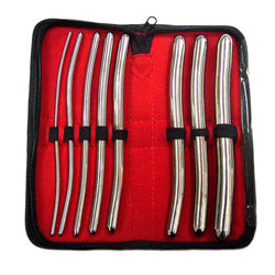 Rouge Stainless Steel Hegar Dilator Set