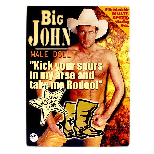 Big John Vibrating Love Doll
