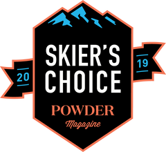Powder Magazine Skier's Choice 2019 - Metal