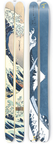 "The Allplay ""GREAT WAVE"" Limited Edition Ski"