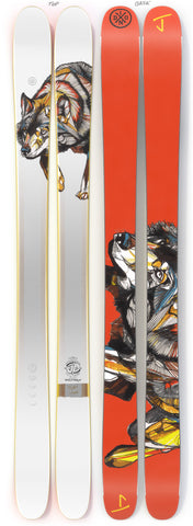 "The Metal ""WOLF WALK"" Luke Dixon x J Collab Limited Edition Ski"