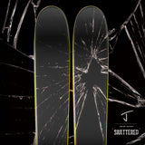 "The Whipit ""SHATTERED"" Limited Edition Ski"