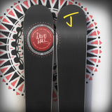 "The Masterblaster ""RIVER"" David Hale x J Collab Limited Edition Ski"