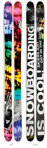 "The Whipit ""SNOWBOARDING IS COOL"" Limited Edition ski"