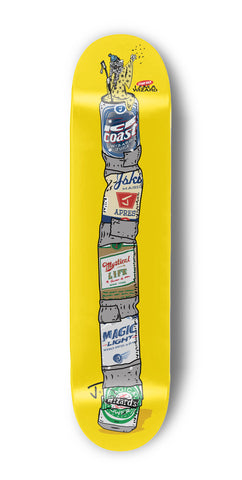 Wizard Staff Skate Deck