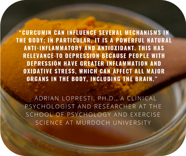 turmeric for mental health