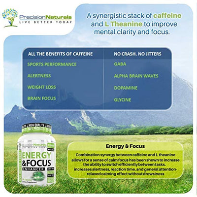 Energy and Focus Veggie Capsules