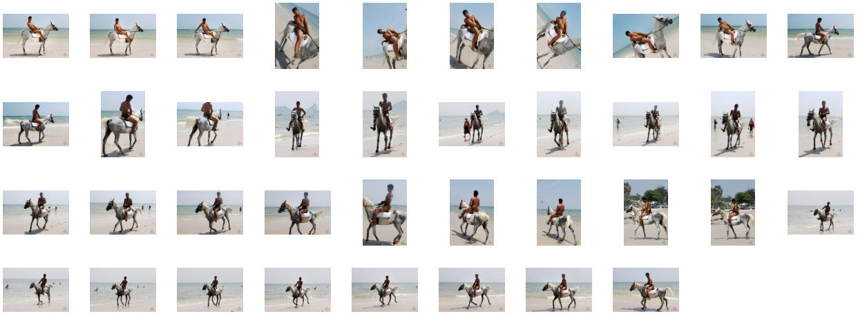 Leon in Brown Sprinter Shorts Riding with Saddle on White Arabian, Part 5 - Riding.Vision