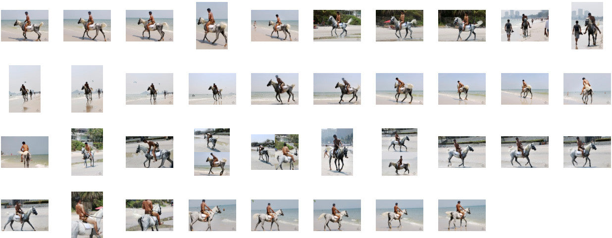 Leon in Brown Sprinter Shorts Riding with Saddle on White Arabian, Part 6 - Riding.Vision