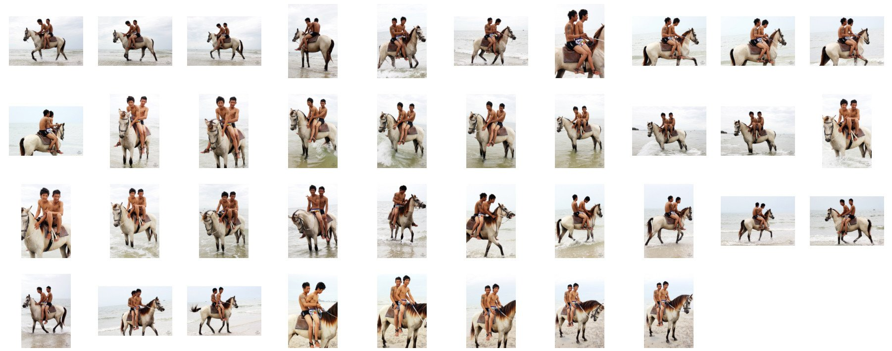 David and Thaksin in Shorts Riding Double with Saddle on Buckskin Horse, Part 6 - Riding.Vision
