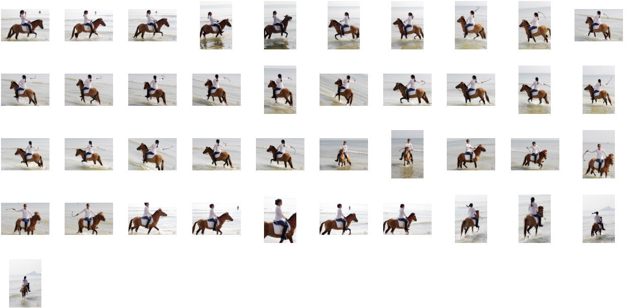 KaZaa in Ridingboots Riding with Saddle on Golden Pony, Part 7 - Riding.Vision