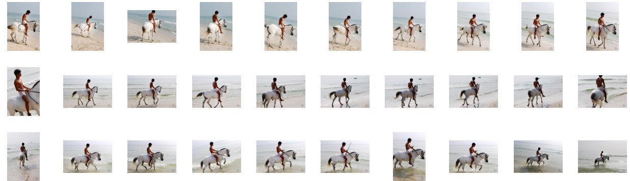 David in White Spandex Shorts Riding Bareback on White Pony, Part 7 - Riding.Vision
